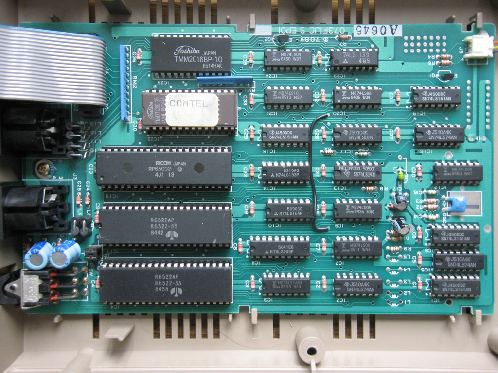 commodore hardware photos you can see its circuit board and power supply on the right here s the owner s manual there s some information on the software internals starting on page